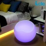 인테리어 충전식 LED무드등 의자 아이클 ICLE-MCH50