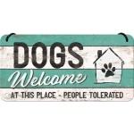 [28015] PfotenSchild - Dogs Welcome