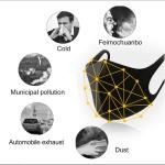 [에어칼리브] 3D 패션마스크 3매 쿨링소재