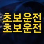 자동차스티커 초보운전스티커 017
