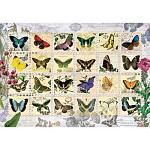 500조각 직소퍼즐▶ 나비 우표 (PR3583)