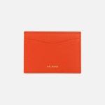 REIMS W018 루프 미니 카드 지갑 레드오렌지