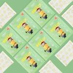 미니언즈 휴대용 핫팩 특대형 5매
