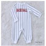 [베베원] 무형광 베이스볼 보온 우주복