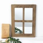 클라라 빈티지 창문형 벽걸이 거울 (중)