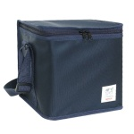 생활창고 편리한 개폐 보온보냉 가방 중 네이비