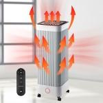 데이플러스 4면 리모컨 복합 팬 전기히터 DPH-2050