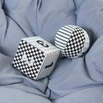 이젠베이비 흑백 초점 숫자 주사위 공 아기장난감