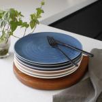 (국산)쏠레이 스마일 접시 중- 6color