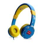 어린이 청력보호 블루색 헤드폰