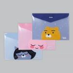 카카오프렌즈 봉투 파일 3종(화일,디자인화일,디자인파일)