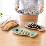 파스텔 물고기 접시 디저트 트레이 접시 그릇