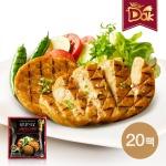 뉴닭 닭가슴살 스테이크 고추맛 100g 20팩