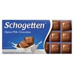 쇼게튼 알파인 밀크 초콜릿 100g (18piecse) X 4EA