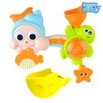 목욕놀이 빙글빙글 바다 샤워기 아기 물놀이 장난감