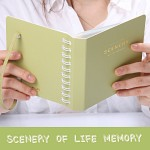 SCENERY OF LIFE MEMORY - 3x5 Photo Album ver.02 - 옐로우 그린