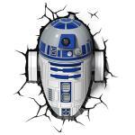 스타워즈 R2D2 3D 데코 라이트 벽조명 벽등