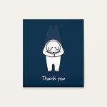 메세지카드 - THANK YOU