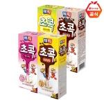 제티 초콕 스트로우 20T+20T 초코/딸기/바나나/쿠키