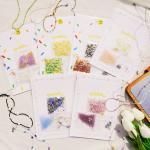 비즈목걸이만들기 세트 X2 DIY 키트 재료 6종 Dahlia