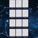 [올댓라이츠] DIY 별자리 캔버스조명 별자리시리즈