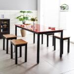 TS-04 강화유리책상 테이블