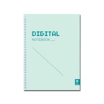 DIGITAL NOTEBOOK 스프링 바인딩 MINT