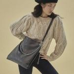 [펀프롬펀]Winona 2way shoulder bag (Pearl Black)