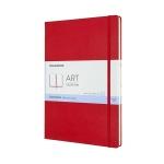 몰스킨 아트컬렉션-스케치북/레드 하드 A4