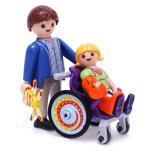 플레이모빌 휠체어 탄 아이(6663)