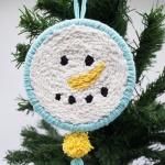 펀치니들 크리스마스 눈사람 DIY 키트