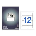 폼텍 주소용 라벨/LS-3212