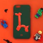 Balloon giraffe for slide case (슬라이드 케이스)