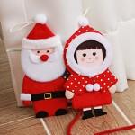 솜씨 크리스마스 인형카드 (크리스마스 카드)-030-CM-13 / 망토소녀인형