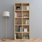 [히트디자인] 키큰 3자 5단 오픈 책장