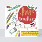 선생님 감사합니다 카드 Thank You Teacher card