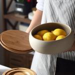 온나 도자기 항아리 조미료통 양념통(대형)