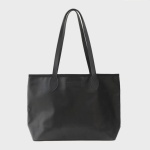 Black middle Shopper bag