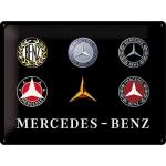 노스텔직아트[23251] Mercedes-Benz - Logo Evolution