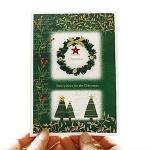 FS152s-6 크리스마스카드 카드 성탄카드