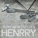 HENRRY 헨리 골프 퍼터 (일자형/반달형 사이즈 선택)