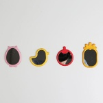 엠팩플러스 젤리팜 스마트폰 부착거울 점착거울