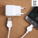 마이크로 5핀 USB 스마트폰 충전기(분리형)