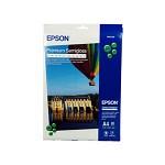 엡손(EPSON)용지 C13S041332 (프리미엄 저광택 사진용지) / Premium Semi gloss Photo Paper A4 / 20매