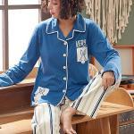 블루래빗 여성 수면잠옷 상하의 세트CH1501505