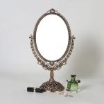 엔틱메탈 스텐딩 매화  화장거울 미디움-3색상