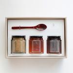 [우드스푼] 천연꿀 + 꿀벌화분 3종 선물세트
