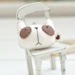 [DIY] 팬더 멍멍이 핸드폰고리 만들기 세트