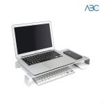 알루미늄 모니터 거치대 노트북 받침대 키보드수납