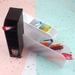 다용도 볼펜꽂이 연필꽂이 문구정리함 일본정품